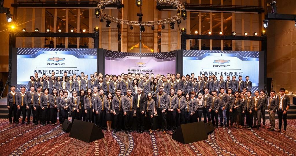 เชฟโรเลต์ ประเทศไทย มอบรางวัลให้ผู้จัดจำหน่ายที่มีผลงานยอดเยี่ยมประจำปี 2562 พร้อมจัดประชุมเตรียมความพร้อมเพื่อปี 2563