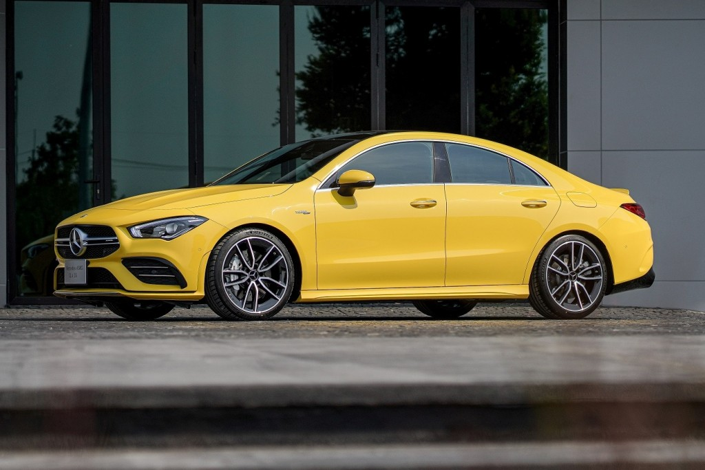 01Mercedes-AMG CLA 35 4MATIC Coupé
