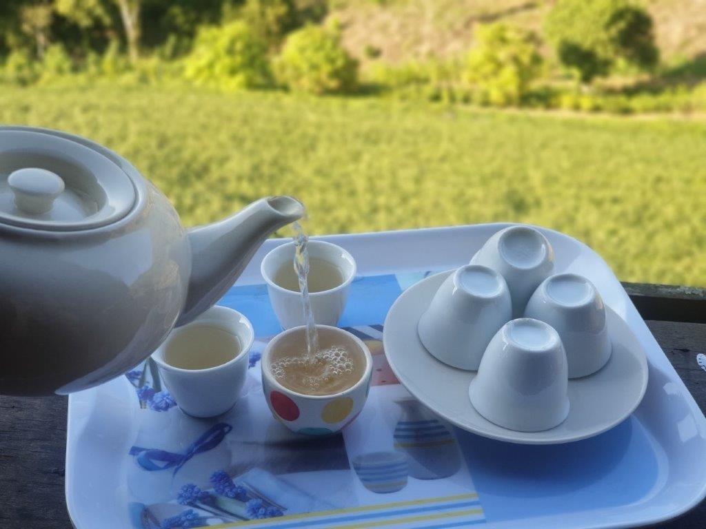 25.ไร่ชาลุงเดช - ชาขาวร้อนๆ