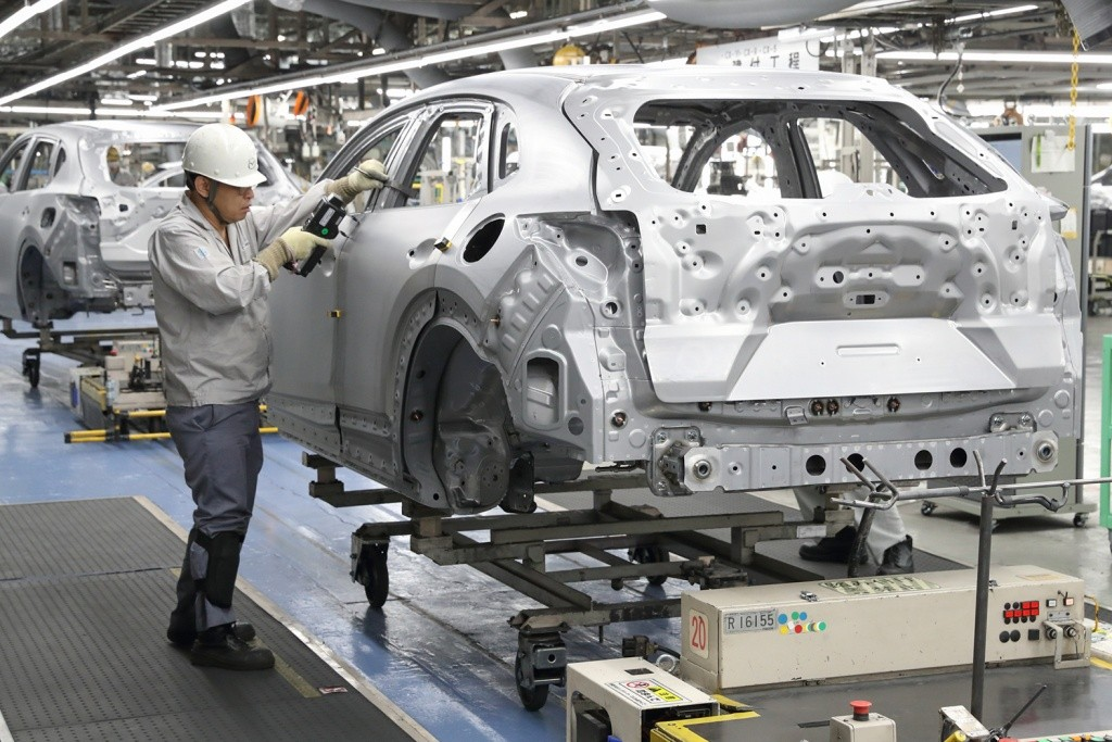 All-New Mazda CX-30 Production line