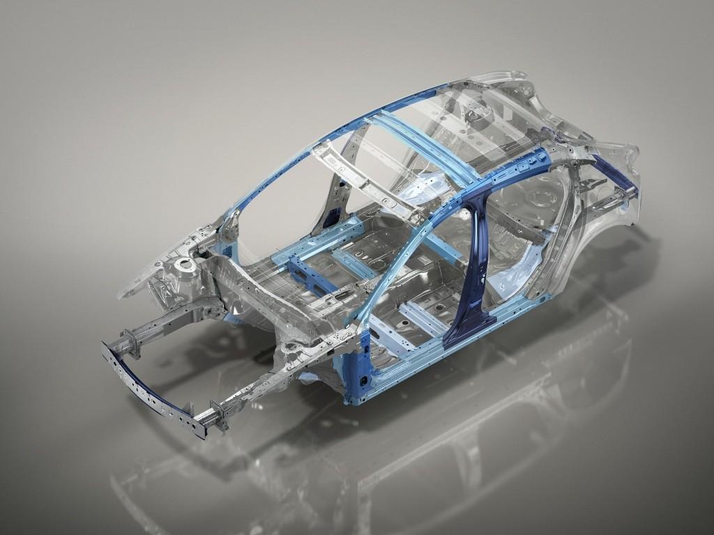 All-new Mazda CX-30 Body structure
