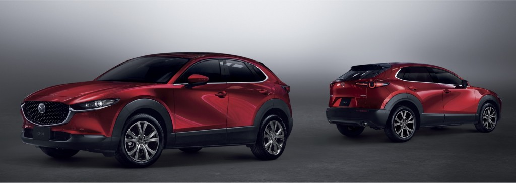 All-New Mazda CX-30_Soul Red Crystal