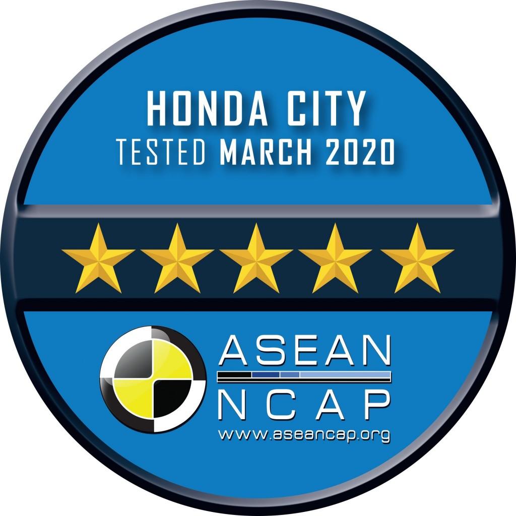 All-new Honda City_ASEAN NCAP Rating Plate