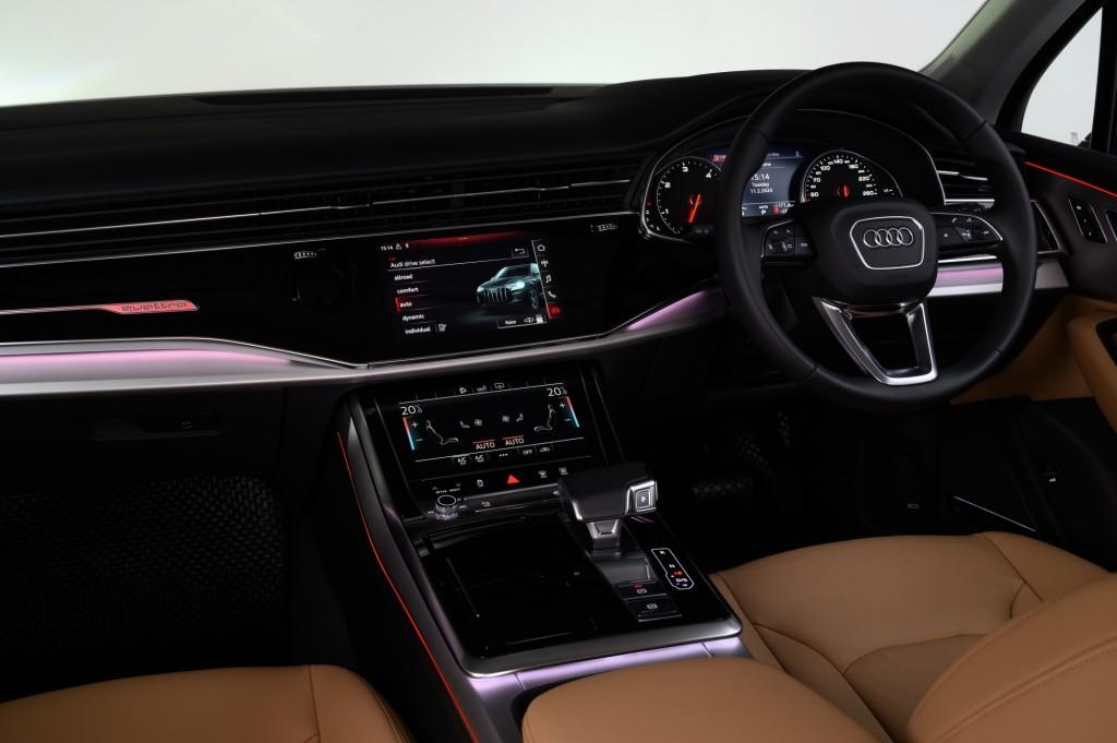 The New Audi Q7 45 TDI quattro S line_ภายใน_11