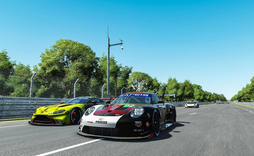 M20_1787 Porsche 911 RSR, Porsche Esports Team (#92), Jaxon Evans (NZ), Matt Campbell (AUS), Mack Bakkum (NL), Jeremy Bouteloup (F)