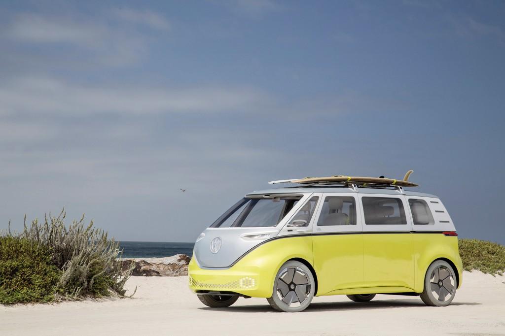 Volkswagen Showcar ID. BUZZ, Pebble Beach