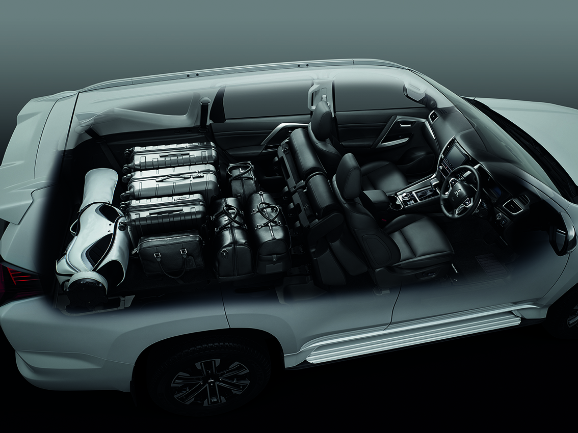 Pajero Sport_Flexible Space