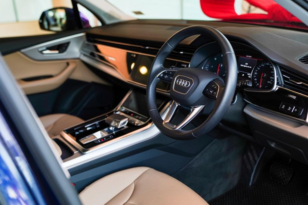 The New Audi Q7_ดีไซน์ภายในหรูหรา
