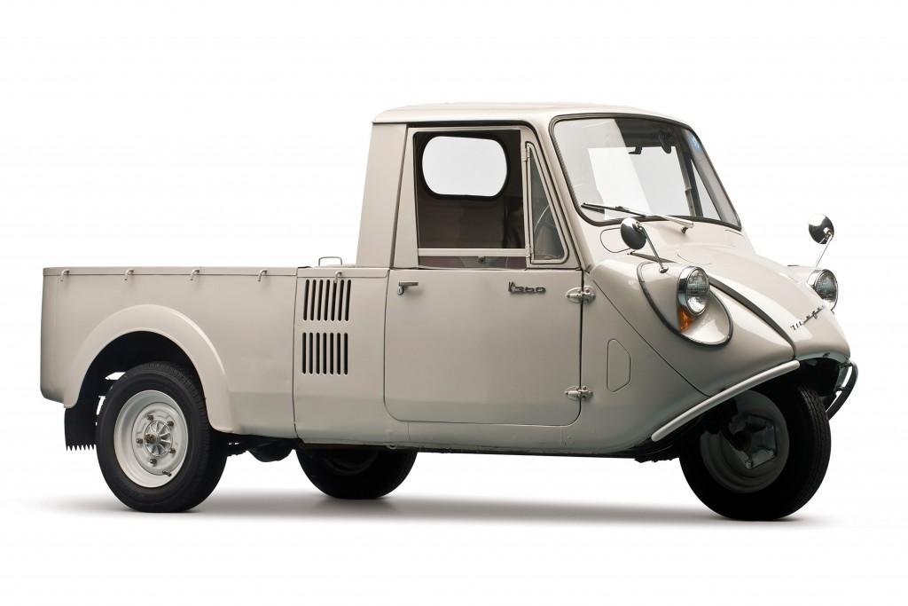 1959 Mazda K360 tree-wheel truck copy