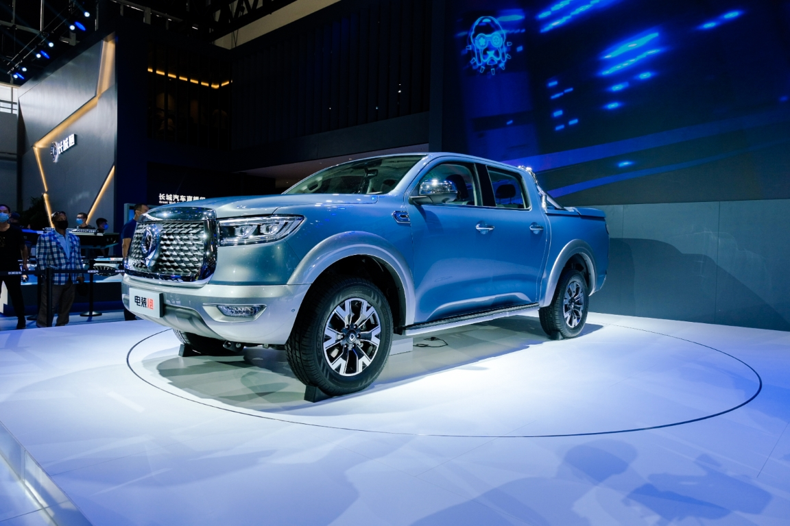 Great Wall Motors at Beijing International Automotive Exhibition 2020 Great Wall Pickup POER EV