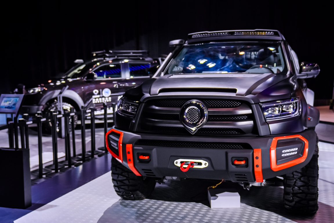 Great Wall Motors at Beijing International Automotive Exhibition 2020 Great Wall Pickup POER Off-road