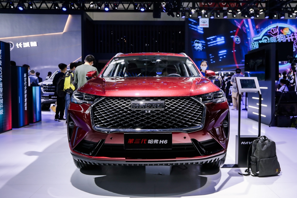 Great Wall Motors at Beijing International Automotive Exhibition 2020 Haval H6