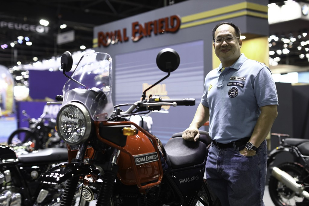 5 M.L. Kamolchart Pravitra, Country Manager of Royal Enfield Thailand_resized