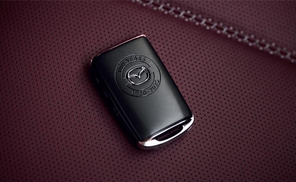 Key_Mazda 100th Anniversary Edition