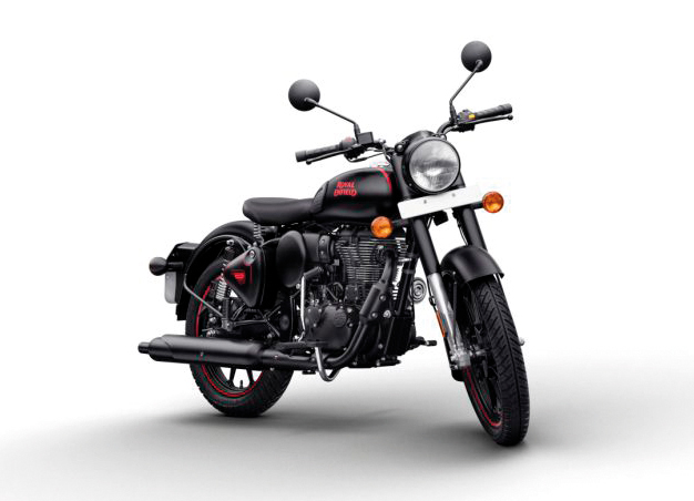 Royal Enfield Classic 500 Stealth Black copy
