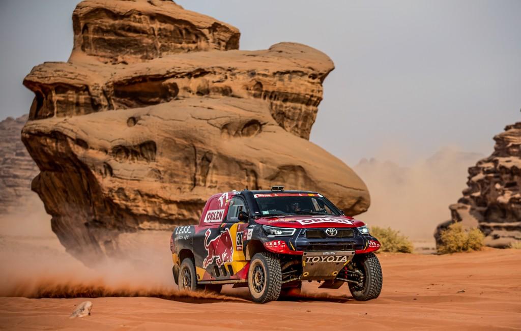 Dakar 2021, 307 Jakub Przygonski / Timo Gottschalk Overdrive Toyota during the Dakar 2021 - 14/01/2021 ETAPE 11 - PHOTO : BFGoodrich