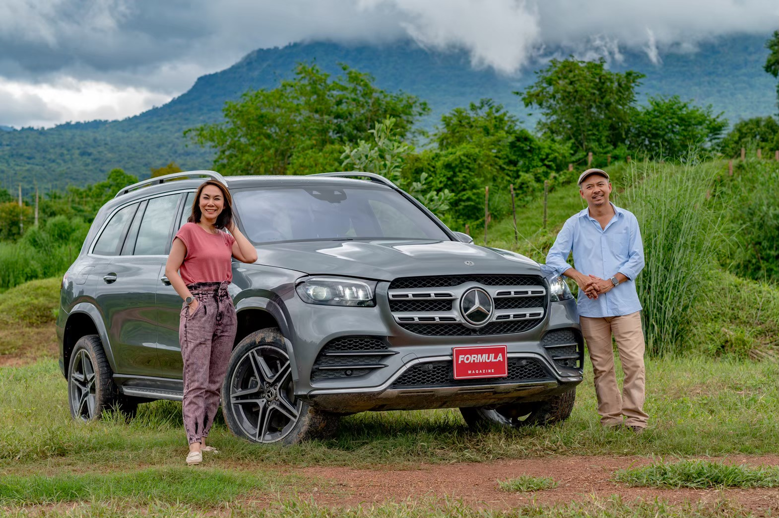 Mercdes-Benz GLS Test พี่น้องลองรถ (6)