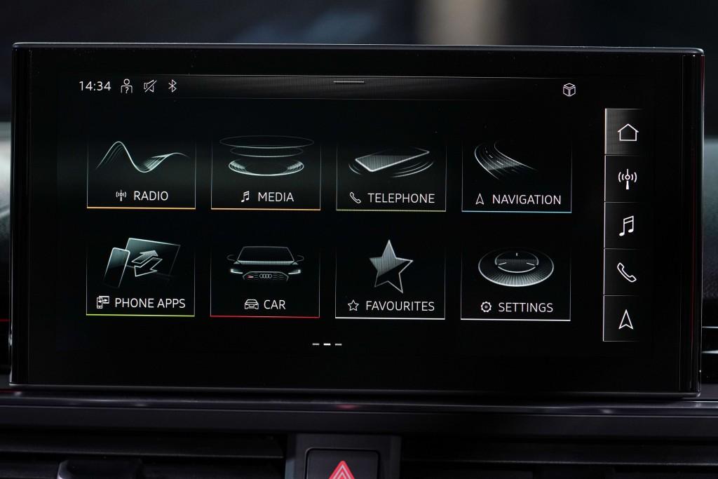 Audi RS 5 Coupé quattro_ภายใน_05