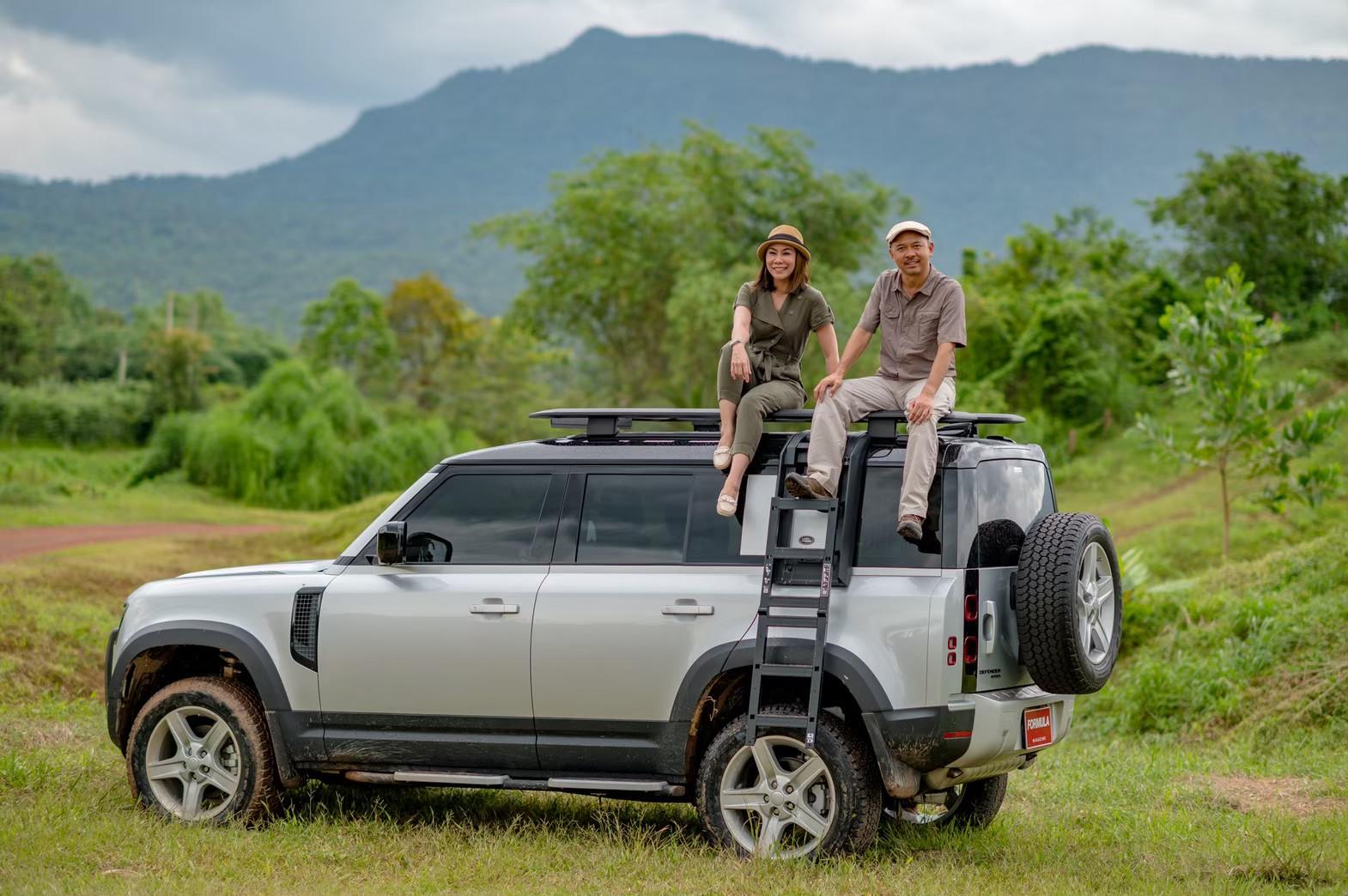 Land Rover Defender 110  Benz GLS350d_1