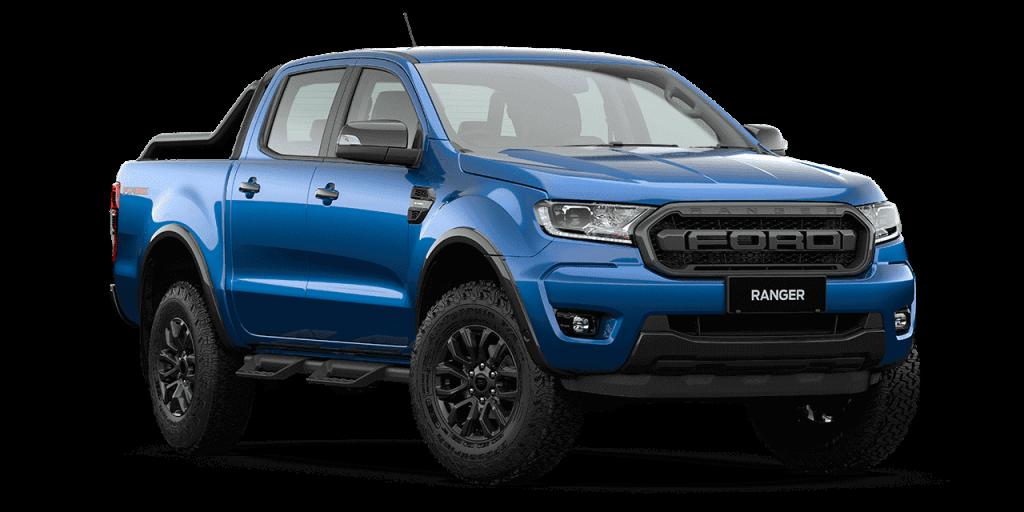 New Ford Ranger FX4 Max_Lightning Blue