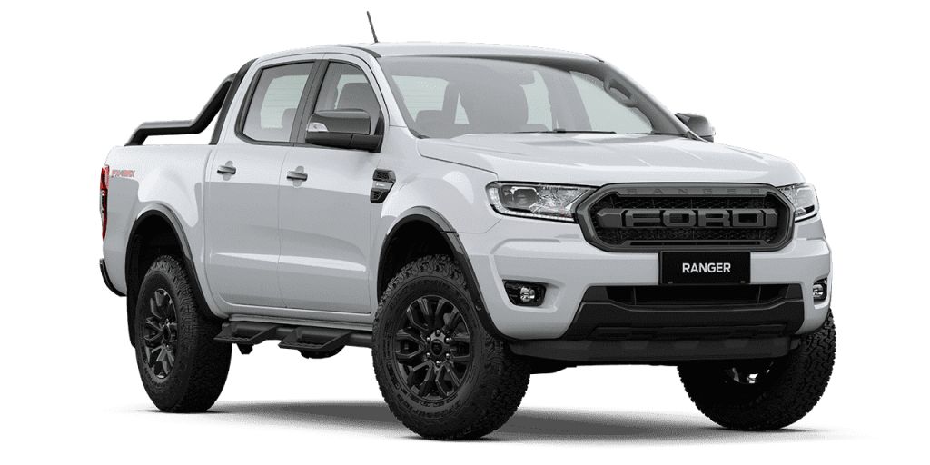 New Ford Ranger FX4 Max_Arctic White