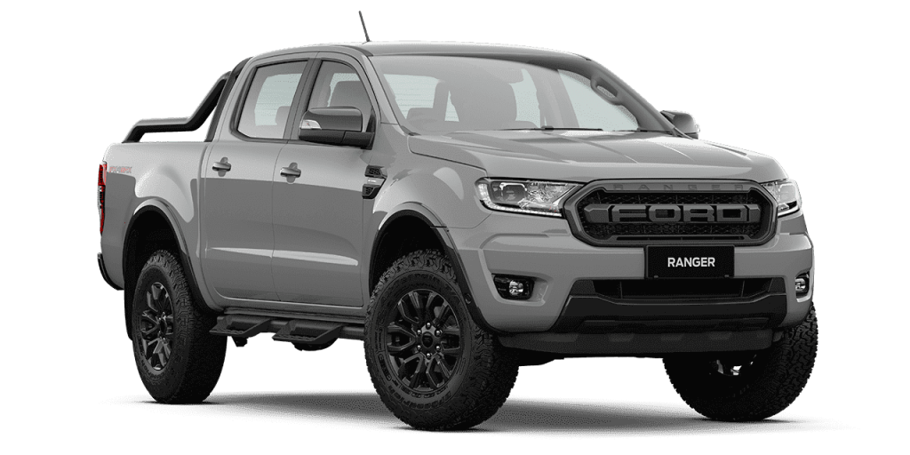 New Ford Ranger FX4 Max_Conquer Grey