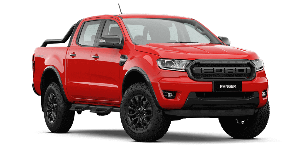 New Ford Ranger FX4 Max_True Red
