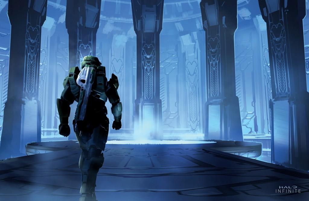 Halo Infinite Concept Art Stinger Environment