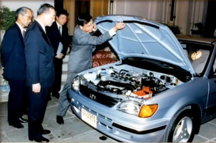 Toyota-Soluna-ในหลวง-รัชกาลที่9
