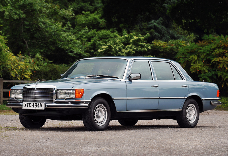 1972 Mercedes-Benz 450 SEL (W116); top car design rating and specifications