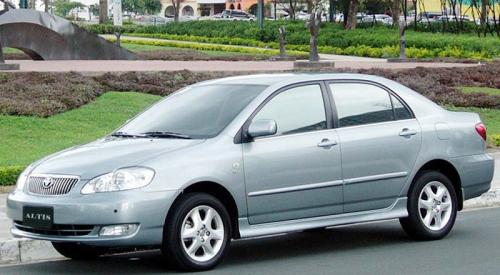 Toyota Corolla Altis  หน้าหมู