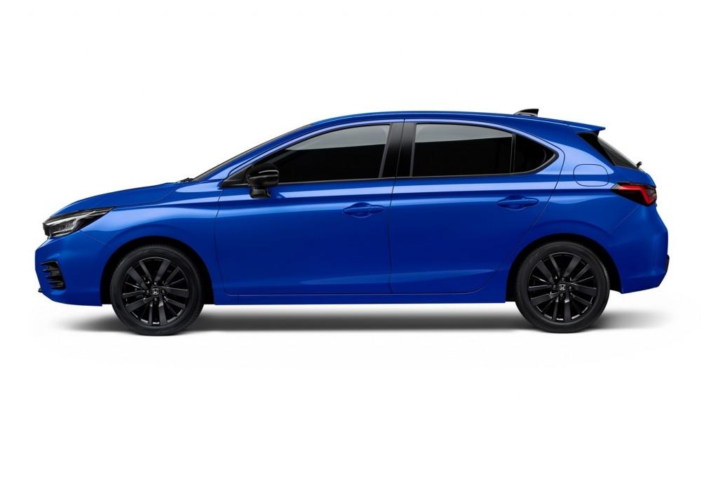 The City Hatchback eHEV_Brilliant Sporty Blue Metallic