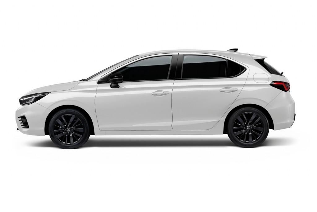 The City Hatchback eHEV_Platinum White Pearl