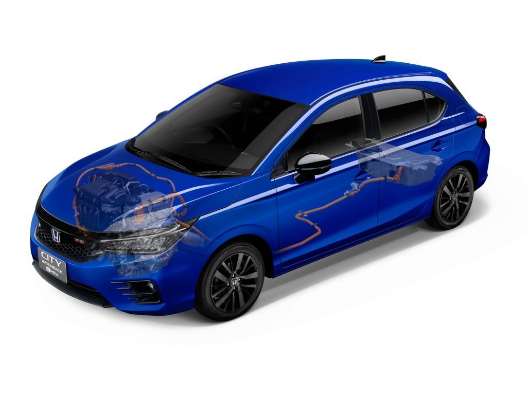 The City Hatchback eHEV_Sport Hybrid i-MMD