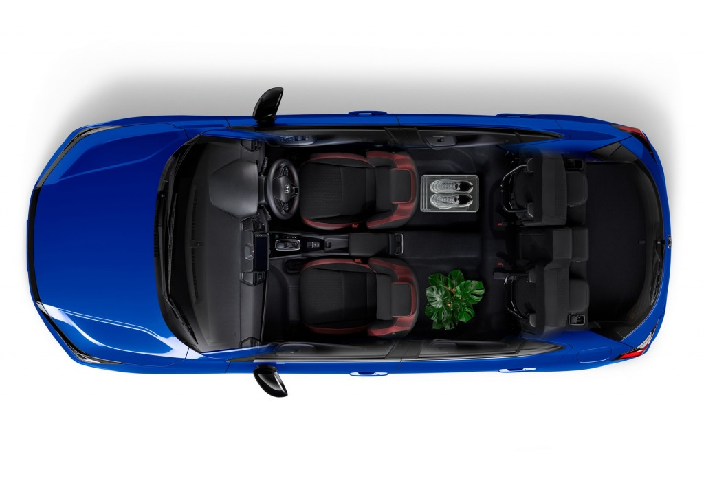 The City Hatchback eHEV_ULTR_Tall Mode
