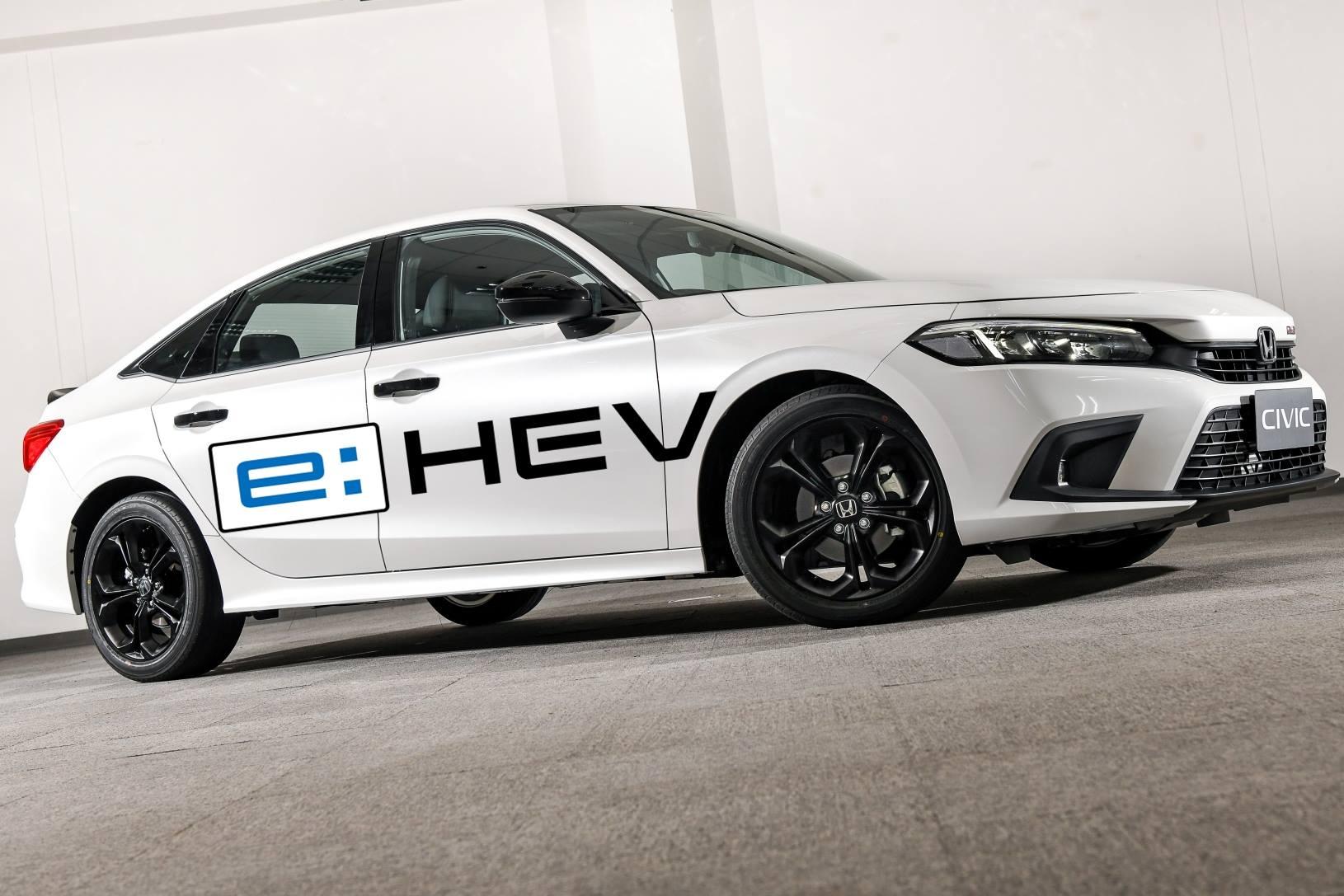 Honda Civic eHEV Hybrid 2022 AutoinfoOnline (11)